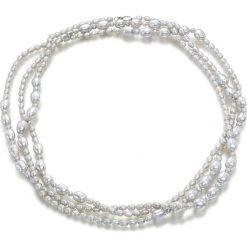 Naszyjniki damskie: Naszyjnik z pereł – (D)160 cm