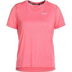 Nike Performance DRY MILER Tshirt basic sea coral/reflective silver. Pomarańczowe t-shirty damskie Nike Performance, xl, z poliesteru. Za 129,00 zł.