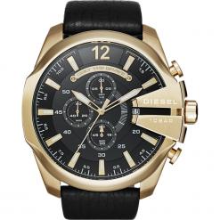 Zegarek DIESEL - Mega Chief DZ4344 Gold/Black/Gold. Czarne zegarki męskie Diesel. Za 1019,00 zł.