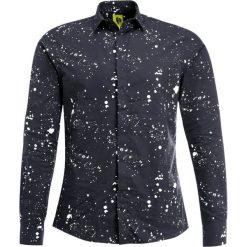 Koszule męskie na spinki: Noose & Monkey SPLATTER TOOLE Koszula black