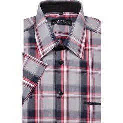 Koszula FABIO BR 13-07-16. Brązowe koszule męskie marki QUECHUA, m, z elastanu, z krótkim rękawem. Za 149,00 zł.