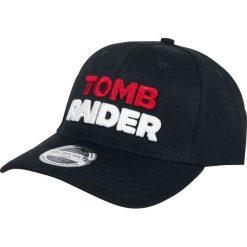 Czapki damskie: Tomb Raider 3D Logo Czapka baseballowa czarny