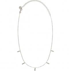 Srebrny naszyjnik z zawieszkami - (D)32 cm. Żółte naszyjniki damskie marki METROPOLITAN, pozłacane. W wyprzedaży za 94,95 zł.