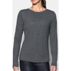 Under Armour Koszulka Threadborne Train LS Twist kolor czarny r. M (1307588-001). Czarne topy sportowe damskie Under Armour, m. Za 117,75 zł.