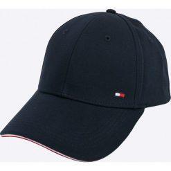 Tommy Hilfiger - Czapka. Czarne czapki z daszkiem męskie marki TOMMY HILFIGER, z bawełny. Za 179,90 zł.