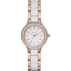DKNY - Zegarek NY2496. Czarne zegarki damskie marki KALENJI, ze stali. Za 799,90 zł.