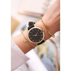 Biżuteria i zegarki: Czarny Zegarek Preprint