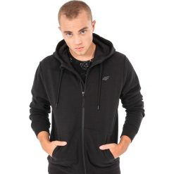 Bluzy męskie: 4f Bluza męska  czarna r. M  (H4Z17-BLM002)