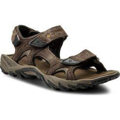 Sandały męskie skórzane: Sandały COLUMBIA – Santiam 3 Strap BM4625 Cordovan/Dark Banana 231
