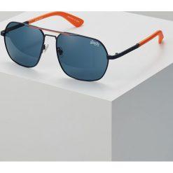 Superdry CITYLINE SUN Okulary przeciwsłoneczne navy/orange/solid smoke. Niebieskie okulary przeciwsłoneczne męskie Superdry. Za 249,00 zł.