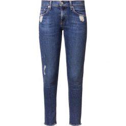 Rag & bone Jeans Skinny Fit stone blue denim. Niebieskie rurki damskie rag & bone, z bawełny. Za 1029,00 zł.