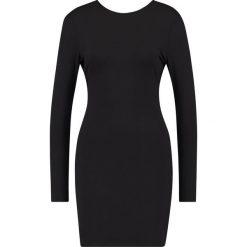 Sukienki hiszpanki: Ivyrevel ILLUSION DRESS Sukienka z dżerseju black