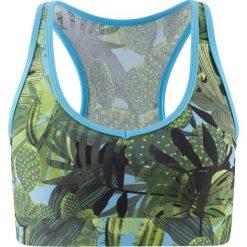"""Biustonosz bikini """"opaska"""" bonprix zielony z nadrukiem. Zielone bikini bonprix, z nadrukiem. Za 24,99 zł."""