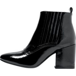 Botki damskie lity: Bruno Premi Ankle boot naplack nero