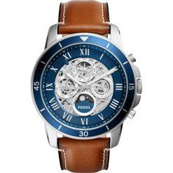 Zegarek FOSSIL - Grant Sport ME3140 Light Brown/Silver/Steel/Blue. Różowe zegarki męskie marki Fossil, szklane. Za 1245,00 zł.