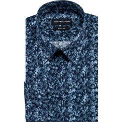 Koszula SIMONE  KDNR000440. Szare koszule męskie na spinki Giacomo Conti, m, z bawełny, z klasycznym kołnierzykiem. Za 199,00 zł.