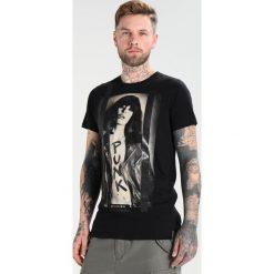 T-shirty męskie z nadrukiem: Religion PUNK TEE Tshirt z nadrukiem black