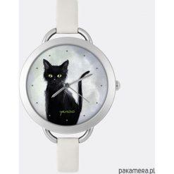 Zegarek - Czarny kot - szary. Czarne zegarki damskie Pakamera. Za 125,00 zł.
