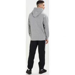 Napapijri BUKA Bluza z kapturem med grey melange. Szare bluzy męskie rozpinane marki Napapijri, l, z materiału, z kapturem. Za 379,00 zł.