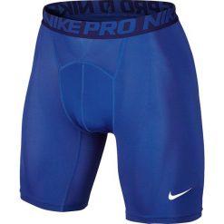 Spodenki i szorty męskie: Nike Spodenki męskie Nike Pro Short niebieski r. XL  (703084 480)