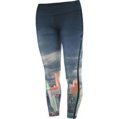 Spodnie damskie: Adidas Legginsy Workout Long Tight City niebieskie r. L (AJ5066)