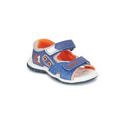 Sandały Dziecko  Chicco  CAPITOL. Niebieskie sandały chłopięce Chicco. Za 159,20 zł.
