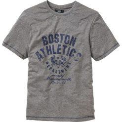 T-shirty męskie z nadrukiem: T-shirt Regular Fit bonprix szary melanż