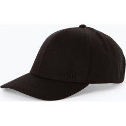 Calvin Klein - Damska czapka z daszkiem, czarny. Czarne czapki z daszkiem damskie Calvin Klein, z haftami. Za 139,95 zł.