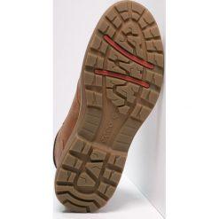 Ecco WHISTLER Buty trekkingowe amber/black. Brązowe buty trekkingowe męskie ecco, z materiału, outdoorowe. Za 839,00 zł.