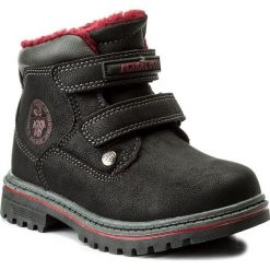 Buty zimowe chłopięce: Trapery ACTION BOY – CP07-16994-03 Czarny