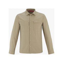 Koszula Lafuma Explorer Shirt Sauge (LFV10683-7524). Brązowe koszule męskie marki FORCLAZ, m, z materiału, z długim rękawem. Za 138,99 zł.