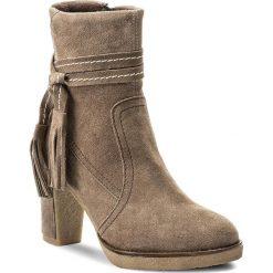 Botki LASOCKI - G281 Brązowy Jasny. Czarne buty zimowe damskie marki Lasocki, ze skóry. W wyprzedaży za 115,00 zł.