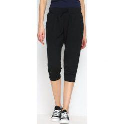 Spodnie dresowe damskie: Czarne Spodnie Dresowe Sniff Out