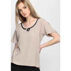 T-shirty damskie: Khaki T-shirt Swash