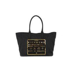 Shopper bag damskie: Torby shopper Richmond  BLACK GOLD TATOO