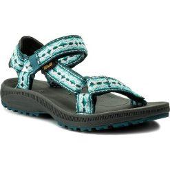 Sandały TEVA - Winsted 1017424 Antigua Deep Teal. Zielone sandały damskie Teva, z materiału. W wyprzedaży za 159,00 zł.