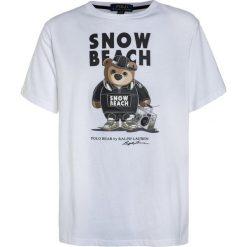 T-shirty chłopięce z nadrukiem: Polo Ralph Lauren GRAPHIC  Tshirt z nadrukiem white