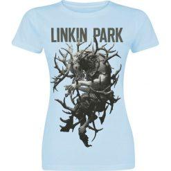 Linkin Park Stag Tour Koszulka damska niebieski. Niebieskie bluzki na imprezę marki Linkin Park, m. Za 42,90 zł.
