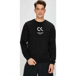Calvin Klein Performance - Bluza. Czarne bejsbolówki męskie Calvin Klein Performance, l, z nadrukiem, z bawełny, bez kaptura. Za 269,90 zł.