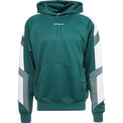 Adidas Originals HOODY Bluza z kapturem green. Szare bluzy męskie rozpinane marki adidas Originals, l, z nadrukiem, z bawełny, z kapturem. Za 379,00 zł.