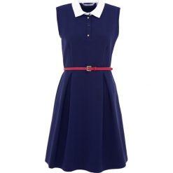 IBlues PELAGO Sukienka letnia blau. Czerwone sukienki letnie marki iBlues, l, z materiału. W wyprzedaży za 636,35 zł.