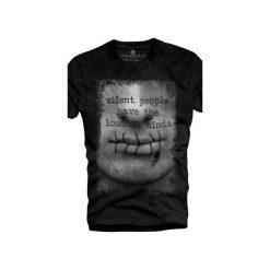 T-shirt UNDERWORLD Organic Cotton Usta. Szare t-shirty męskie z nadrukiem marki Underworld, m, z bawełny. Za 69,99 zł.