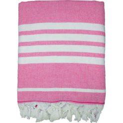"""Chusta hammam """"Ohana"""" w kolorze fuksji - 180 x 140 cm. Czerwone chusty damskie Le Comptoir de la Plage, z bawełny. W wyprzedaży za 86,95 zł."""