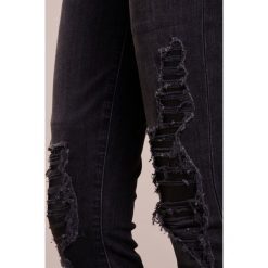 Rurki damskie: 7 for all mankind THE SKINNY CROP Jeans Skinny Fit washed black