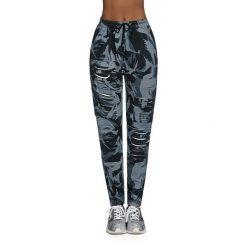 Bas Black Damskie spodnie Yank czarno-szare r. M. Spodnie dresowe damskie Bas Black, m. Za 134,90 zł.