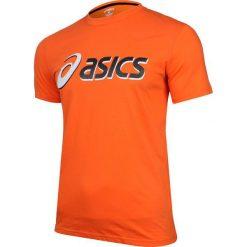 Asics Koszulka męska Short Sleeve Tee pomarańczowa r. M (123062.0506). Brązowe koszulki sportowe męskie Asics, m. Za 27,22 zł.