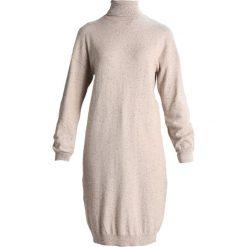 Sukienki dzianinowe: Noisy May NMMOMO ROLL NECK Sukienka dzianinowa cream tan