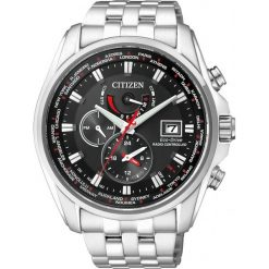 ZEGAREK CITIZEN Radio Controlled AT9030-55E. Czarne zegarki męskie CITIZEN, ze stali. Za 2290,00 zł.