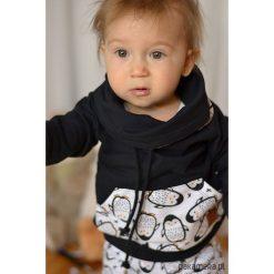 Bluzy dziewczęce rozpinane: Dziecięca bluza z kominem pingwiny