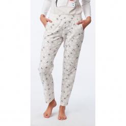 Etam - Spodnie piżamowe. Szare piżamy damskie Etam, l, z bawełny. Za 99,90 zł.